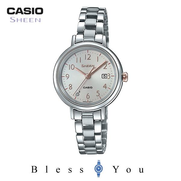 CASIO SHEEN カシオ ソーラー 腕時計 レディース シーン 2019年2月新作 SHS-D100D-4AJF 22,0