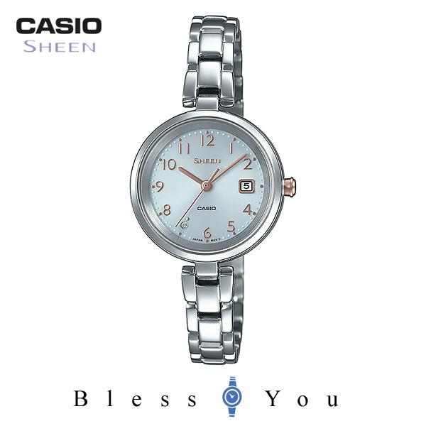 CASIO SHEEN カシオ ソーラー 腕時計 レディース シーン 2019年2月新作 SHS-D200D-7AJF 22,0