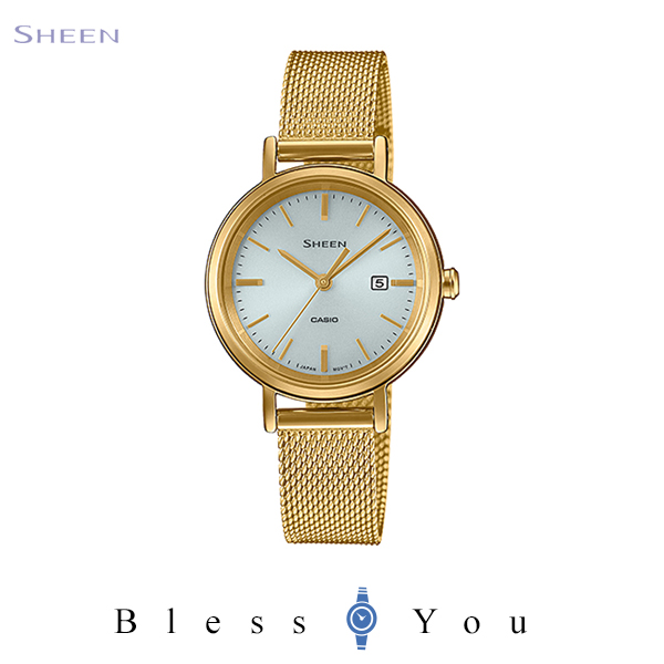 CASIO SHEEN カシオ ソーラー 腕時計 レディース シーン 2020年5月新作 SHS-D300GM-7AJF 26,0