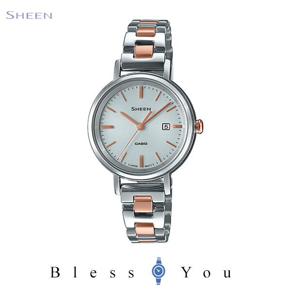 CASIO SHEEN カシオ ソーラー 腕時計 レディース シーン 2020年5月新作 SHS-D300SG-7AJF 24,0