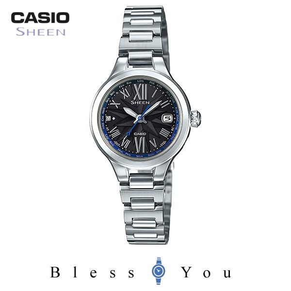 カシオ シーン 腕時計 電波ソーラー SHW-1750D-1AJF 44,0