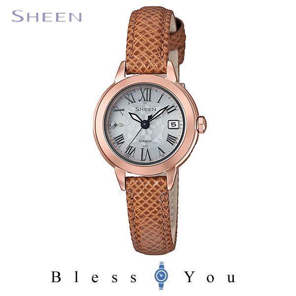 CASIO SHEEN カシオ ソーラー電波 腕時計 レディース シーン 2018年2月新作 SHW-5000PGL-7AJF 37,0