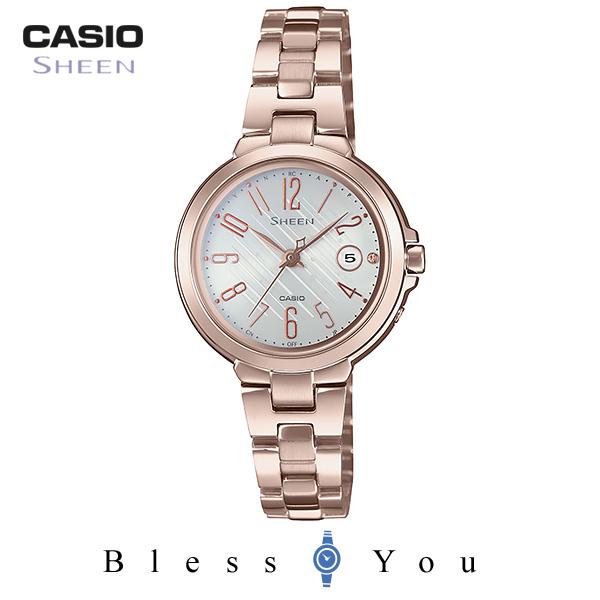 CASIO SHEEN カシオ 電波ソーラー レディース シーン 2018年10月新作 SHW-5100CG-7AJF 43,0