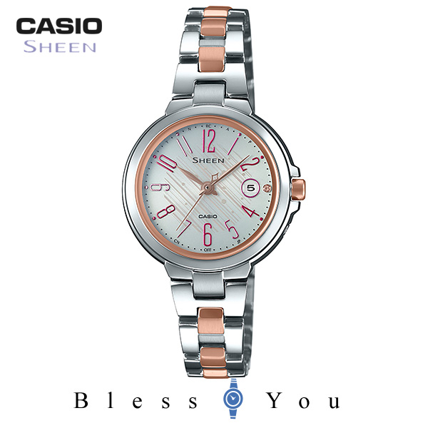 CASIO SHEEN カシオ ソーラー電波 腕時計 レディース シーン 2019年5月新作 SHW-5100DSG-7AJF 39,0