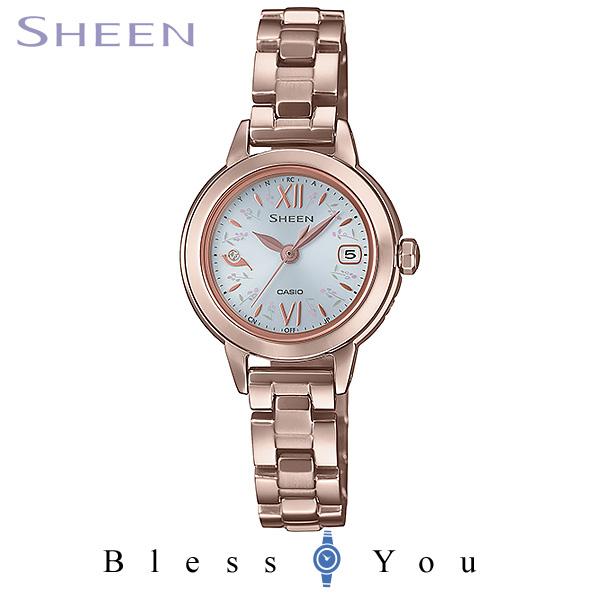 CASIO SHEEN カシオ ソーラー電波 腕時計 レディース シーン 2019年11月新作 SHW-5200CG-7AJF 43,0