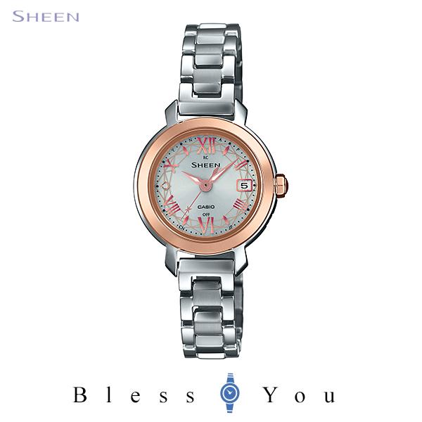 CASIO SHEEN カシオ ソーラー電波 腕時計 レディース シーン 2020年6月新作 SHW-5300BSG-7AJF 33,0