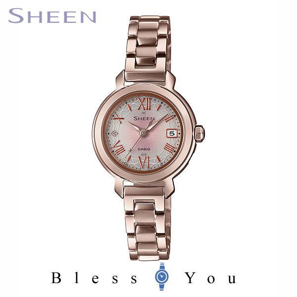 CASIO SHEEN カシオ ソーラー電波 腕時計 レディース シーン 2020年3月新作 SHW-5300CG-4AJF 38,0