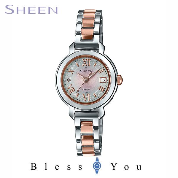 CASIO SHEEN カシオ ソーラー電波 腕時計 レディース シーン 2020年3月新作 SHW-5300DSG-4AJF 34,0