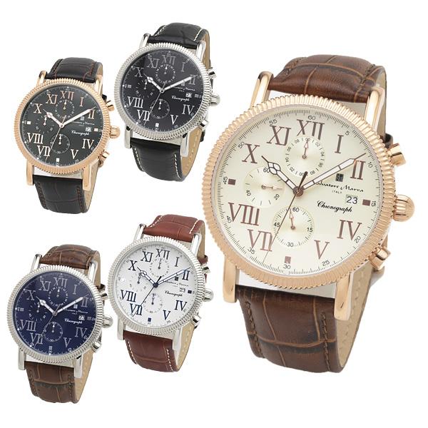 SALVATORE MARRA サルバトーレマーラ 腕時計 メンズ クロノグラフ SM19109