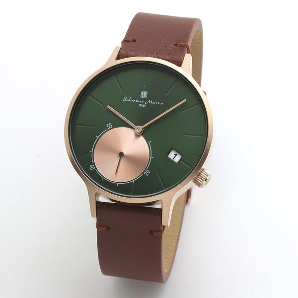 サルバトーレマーラ メンズ 腕時計 SALVATORE MARRA SM20105-PGGR 28.0