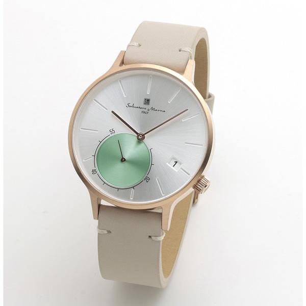 サルバトーレマーラ メンズ 腕時計 SALVATORE MARRA SM20105-PGSV 28.0