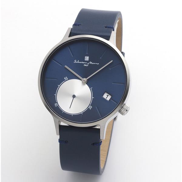 サルバトーレマーラ メンズ 腕時計 SALVATORE MARRA SM20105-SSBL 28.0