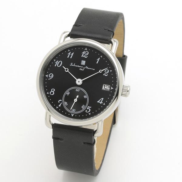 サルバトーレマーラ メンズ 腕時計 SALVATORE MARRA SM20106-SSBKBK 28.0