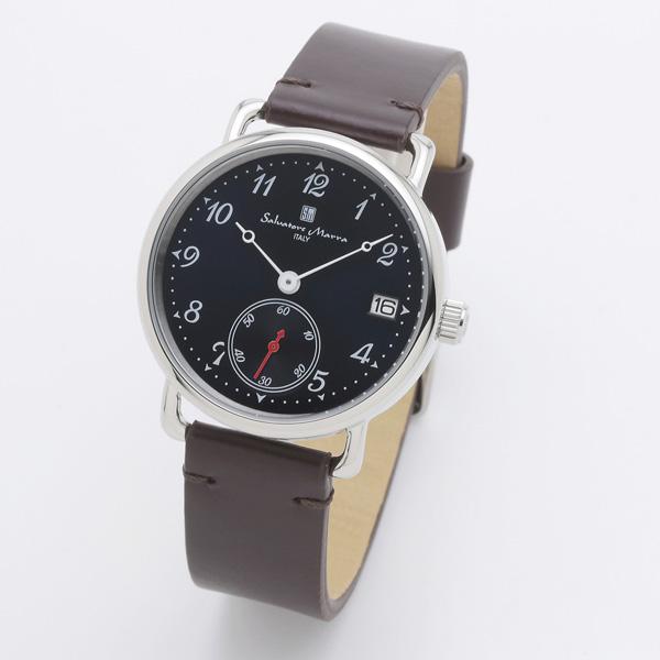 サルバトーレマーラ メンズ 腕時計 SALVATORE MARRA SM20106-SSNVBR 28.0