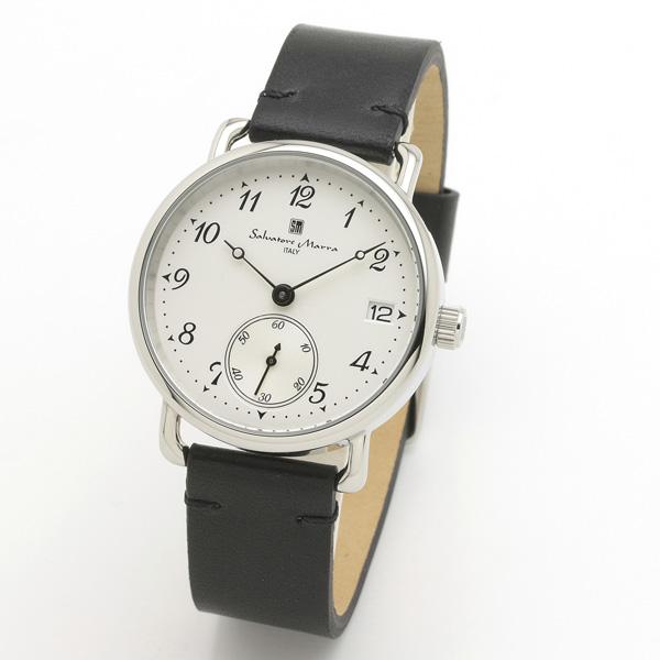 サルバトーレマーラ メンズ 腕時計 SALVATORE MARRA SM20106-SSWHBK 28.0
