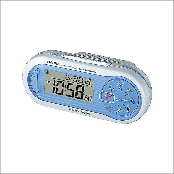 カシオ 電波 置き時計 クロック SQD-1000SJ-2JF 7,0
