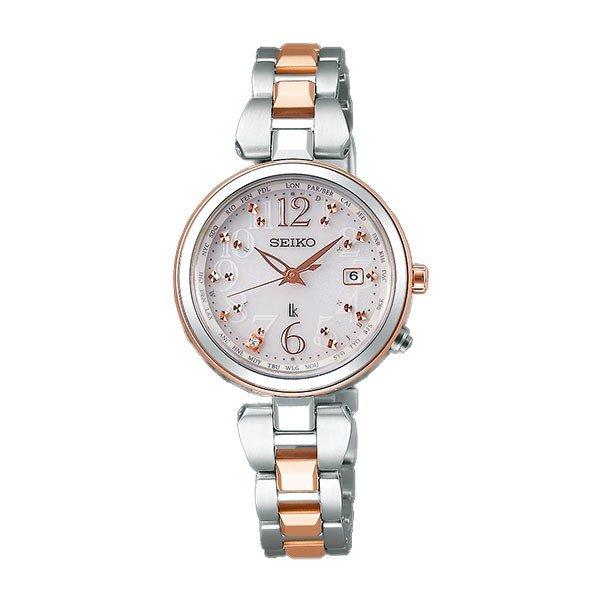 セイコー腕時計 レディース ルキア 電波 ソーラー 腕時計 レディース 綾瀬はるか 着用モデル SSQV048 78