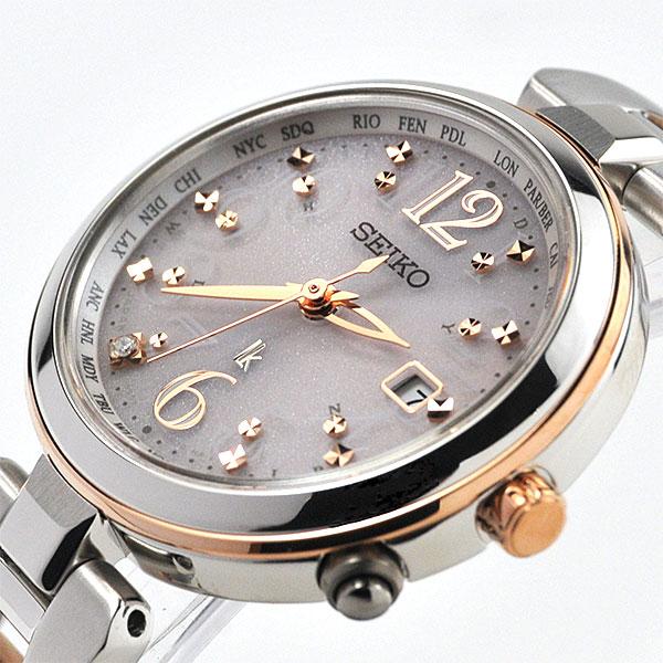 セイコー 腕時計 レディース ルキア 電波 ソーラー 腕時計 レディース 綾瀬はるか 着用モデル SSQV048