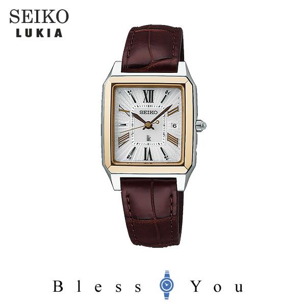 ソーラー 電波時計 セイコー ルキア レディース 腕時計 SSVW100 57,0
