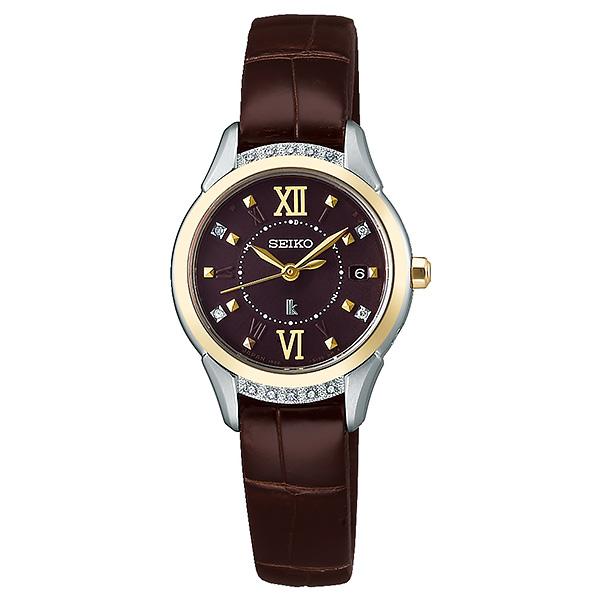 SEIKO LUKIA セイコー 腕時計 レディース ソーラー電波 ルキア ピエール・エルメ 限定 SSVW142 120,0