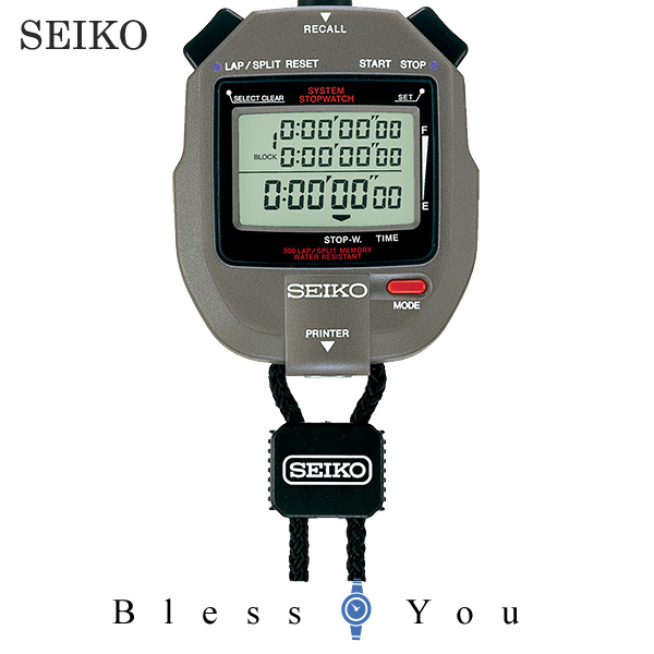 SEIKO ストップウォッチ セイコー SVAS005 16,0