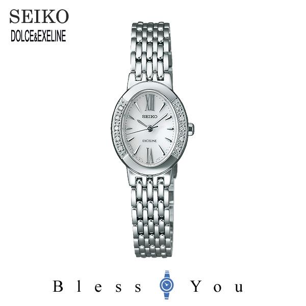 ソーラー セイコー エクセリーヌ レディース 腕時計 SWCP007 新品お取り寄せ 75,0