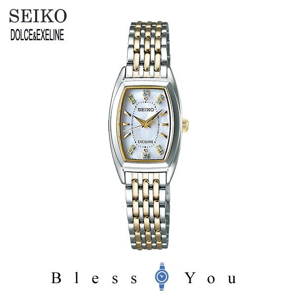 ソーラー 電波時計 セイコー エクセリーヌ レディース 腕時計 SWCW121  新品お取り寄せ 150,0