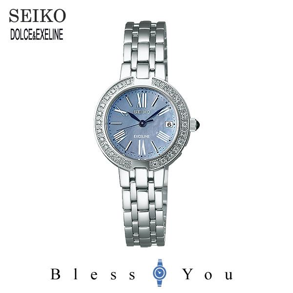 ソーラー セイコー エクセリーヌ レディース 腕時計 SWCQ063 新品お取り寄せ 65,0