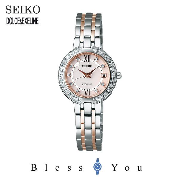 セイコー エクセリーヌ レディース 腕時計 SWCW085 新品お取り寄せ 200,0
