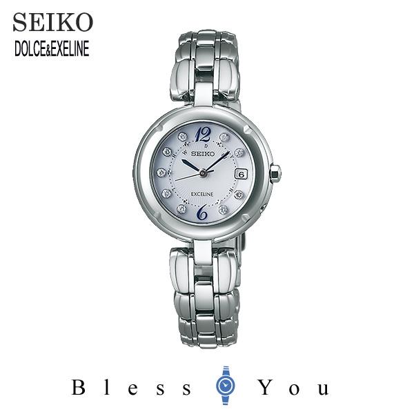 ソーラー 電波時計 セイコー エクセリーヌ レディース 腕時計 SWCW007 新品お取り寄せ 150,0