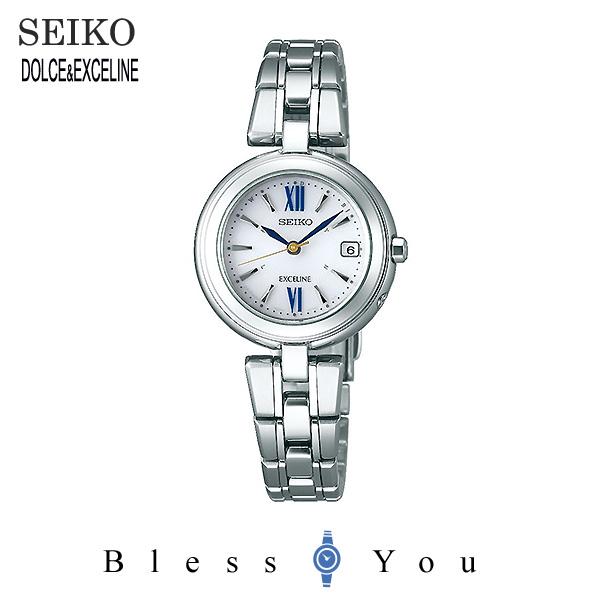 SEIKO セイコー 腕時計 レディース ソーラー電波 ドルチェ&エクセリーヌ プレステージ ライン SWCW131 100,0