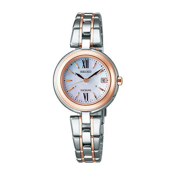 SEIKO セイコー 腕時計 レディース ソーラー電波 ドルチェ&エクセリーヌ プレステージ ライン SWCW134 110,0