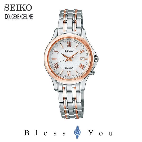 SEIKO セイコー 腕時計 レディース ソーラー電波 ドルチェ&エクセリーヌ SWCW162 130,0