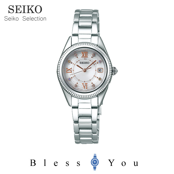 ソーラー 電波時計 セイコーセレクション ティセ レディース 腕時計 SWFH061 37,0 新品お取寄品