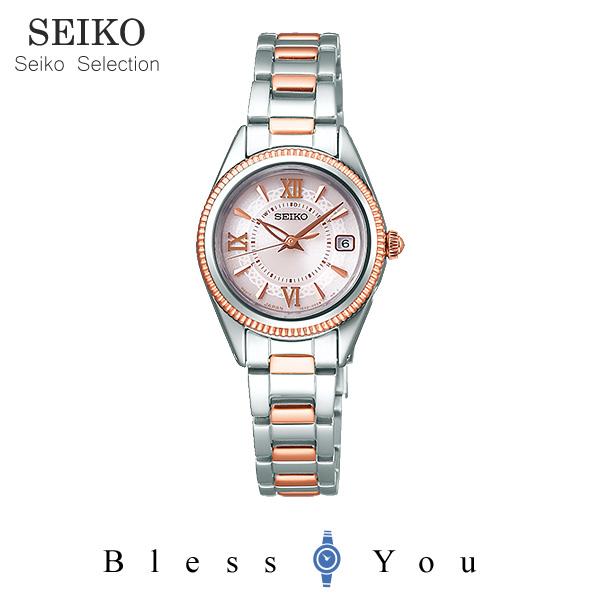 ソーラー 電波時計 セイコーセレクション ティセ レディース 腕時計 SWFH064 38,0 新品お取寄品
