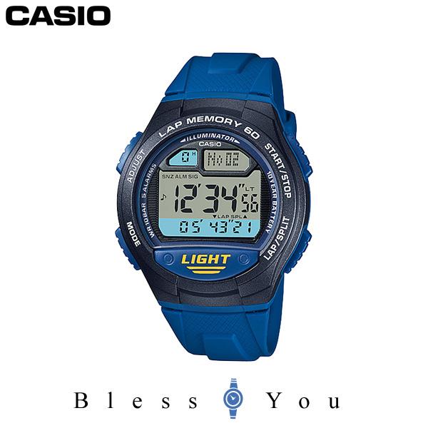 カシオ 腕時計 CASIO スポーツギア W-734J-2AJF 男女兼用ウォッチ 3,0