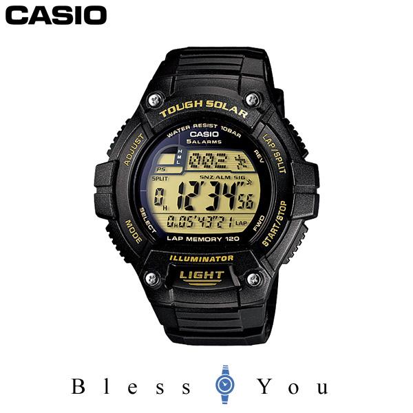 カシオ 腕時計 CASIO スタンダード CASIO SOLAR POWER SYSTEM タフソーラー W-S220-9AJF メンズ