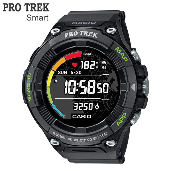 カシオ PRO TREK Smart プロトレック・スマート 心拍計測機能&GPS機能 同時搭載モデル WSD-F21HR-BK