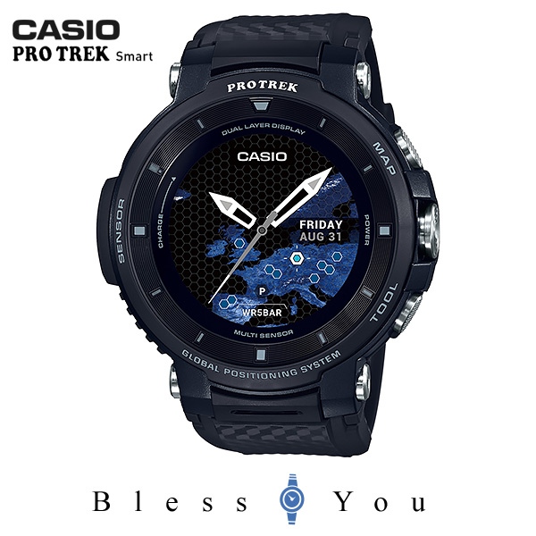 CASIO PRO TREK SMART カシオ 腕時計 メンズ プロトレック スマート 2019年1月新作 Bluetooth WSD-F30BK 61,0