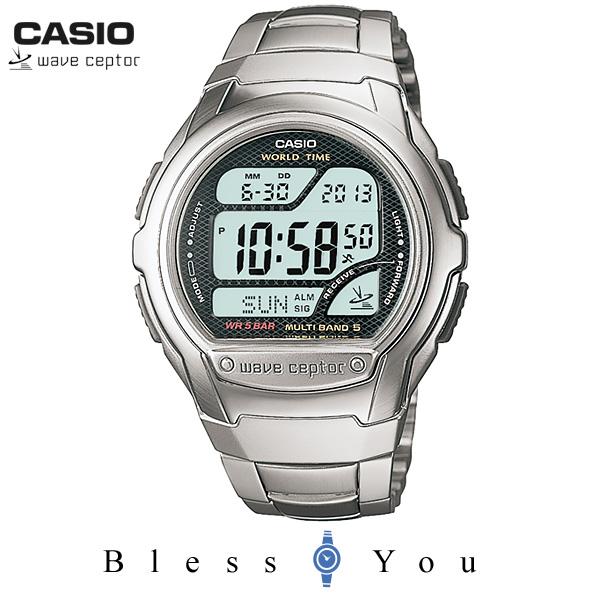 CASIO WAVECEPTOR カシオ 電波 腕時計 メンズ ウェーブセプター WV-58DJ-1AJF 7,0