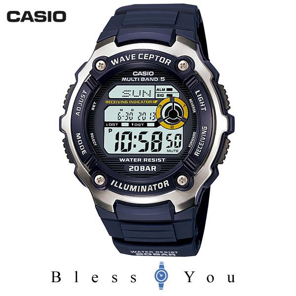カシオ スポーツギア ウェーブセプター SPORTS GEAR WV-M200-2AJF マリンスポーツ マルチバンド5 電波受信機能搭載 メンズ 腕時計 7,0