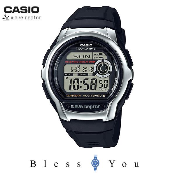 CASIO WAVECEPTOR カシオ 電波時計 腕時計 メンズ ウェーブセプター WV-M60-1AJF 5,5