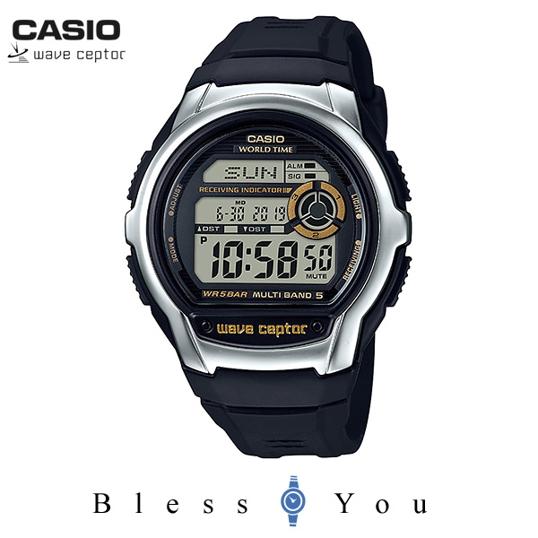 CASIO WAVECEPTOR カシオ 電波 腕時計 メンズ ウェーブセプター WV-M60-9AJF 5,5