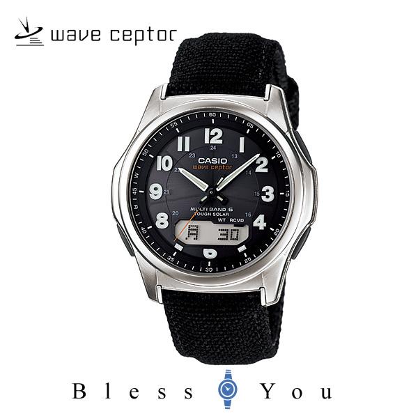 ソーラー 電波  カシオ 腕時計 CASIO ウェーブセプター WVA-M630B-1AJF メンズウォッチ 新品お取寄せ品