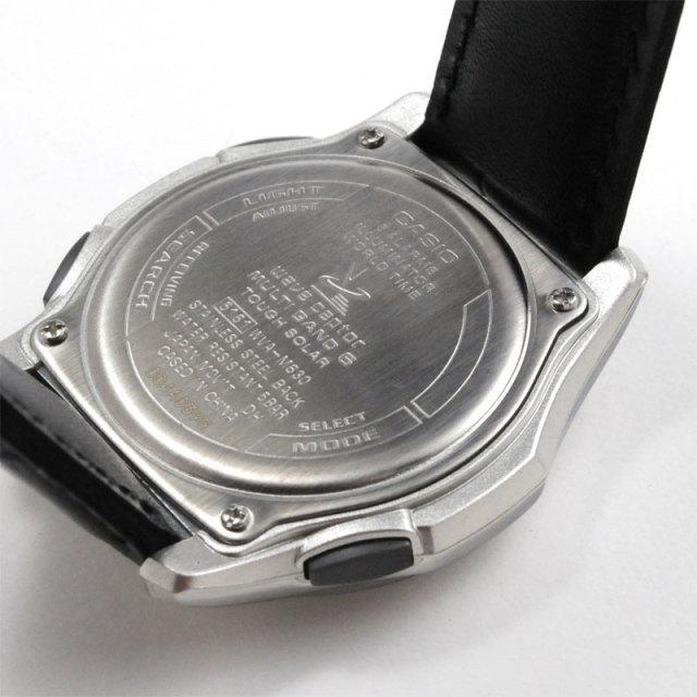 9dd5caaa532449 カシオ 腕時計 CASIO ウェーブセプター 電波ソーラー レザーバンド WVA-M630L-9AJF 20,0