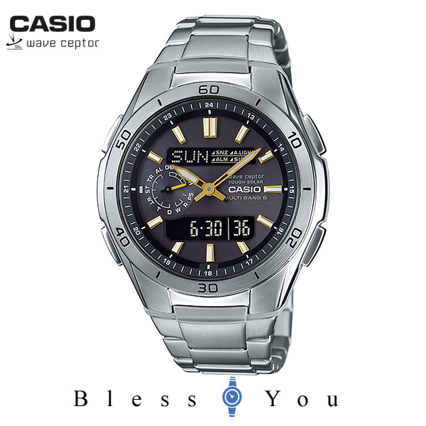 CASIO WAVECEPTOR カシオ 電波ソーラー 腕時計 メンズ ウェーブセプター WVA-M650D-1A2JF 28,0