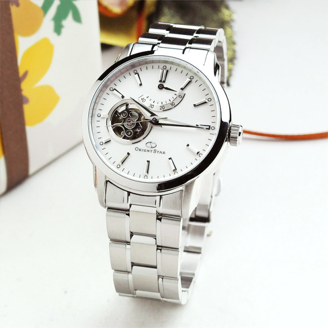 2人の時を重ねていく ペアウォッチ オリエントスター 機械式時計 WH-combi WZ0051DA-WZ0441NR 130,0