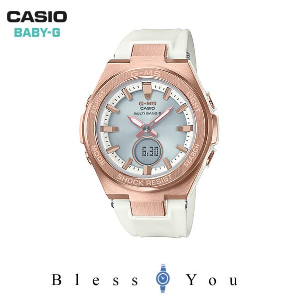 カシオ 電波ソーラー 腕時計 レディース ベビーG 2018年6月新作 MSG-W200G-7AJF
