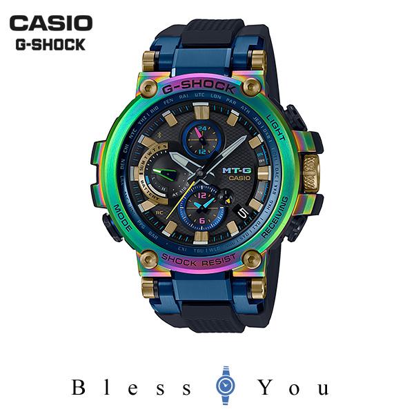 カシオ ソーラー電波 腕時計 MTG-B1000RB-2AJR