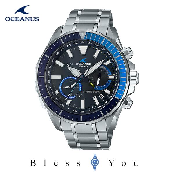 CASIO OCEANUS カシオ ソーラー電波 腕時計 メンズ オシアナス 2020年6月新作 OCW-P2000-1AJF 230,0